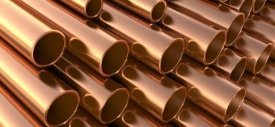 rigid copper pipes for plumbing