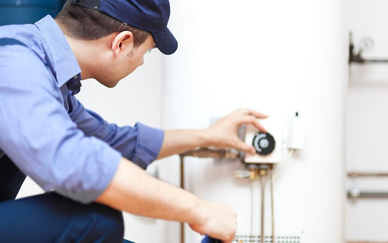 hot water installation and repair