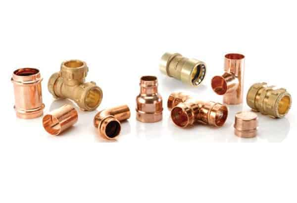 solderless copper fittings